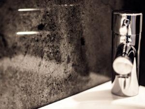 Waschbecken Details